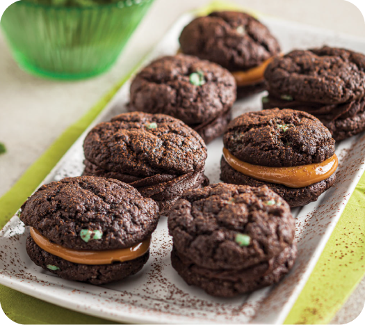 Choc Mint Cookies